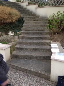 comment rénover escalier en pierre