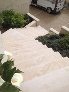 Tailleur de pierre escaliers