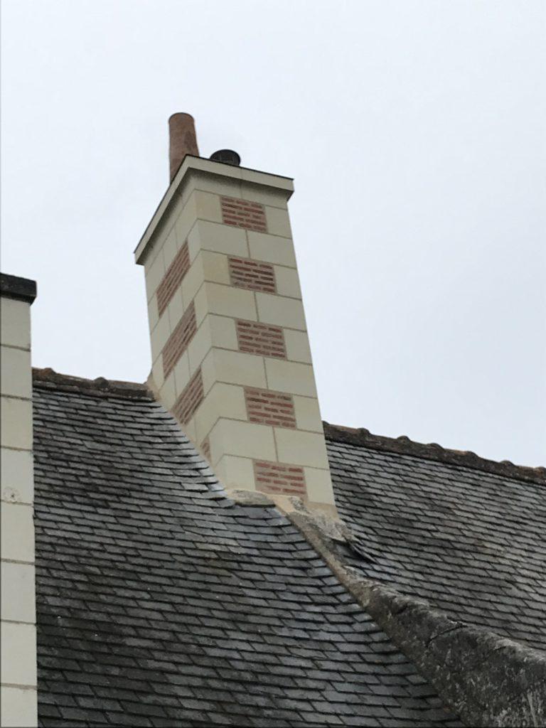 restauration cheminée tours